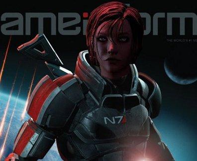 Commander Shepard Mass Effect 3 Game Informer Nerdy But Flirty