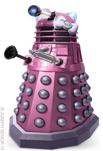 Hello Kitty Dalek Crossover
