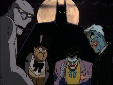Batman The Animated Series Villians