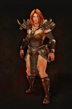 Diablo III Female Barbarian