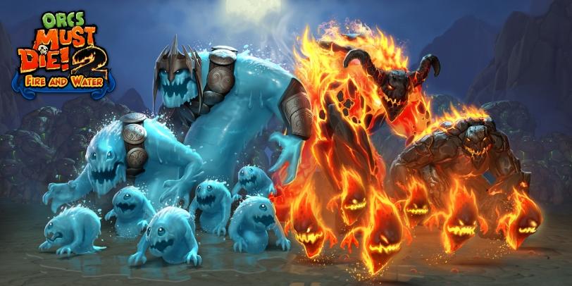 Orcs Must Die! 2 Fire & Water Poster
