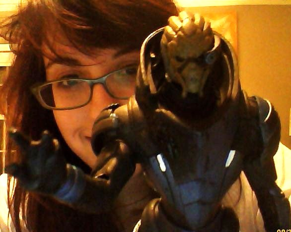 Kelsey and Garrus