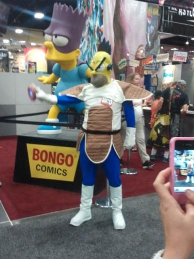 The Simpsons & Bongo Comics