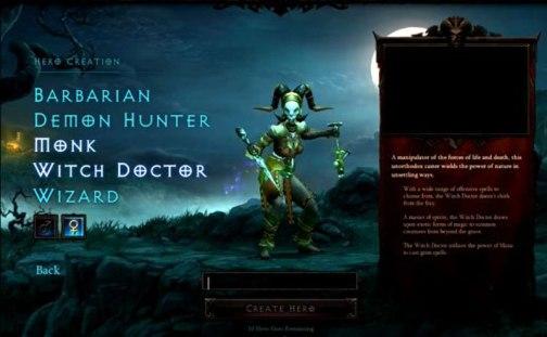 Diablo III Female Witch Doctor