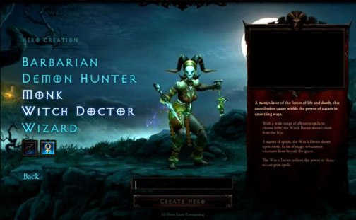 Diablo III Female Witch Doctor