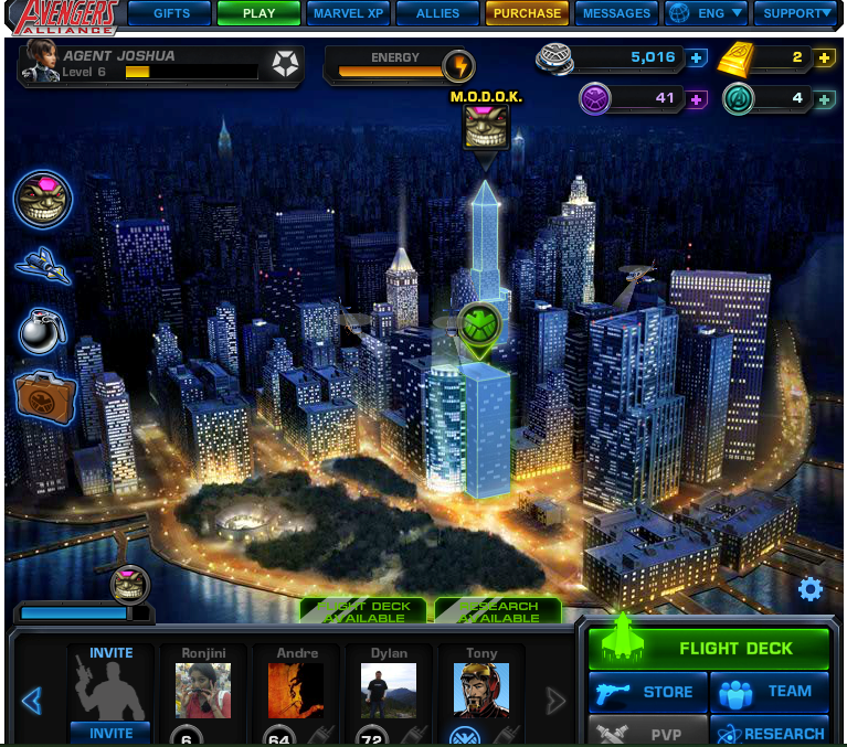 Avengers Alliance Screenshot
