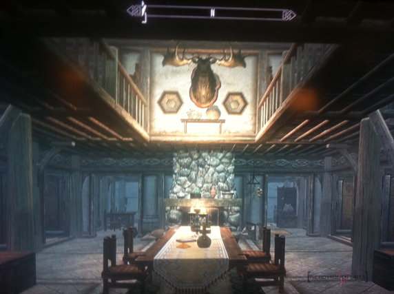 Skyrim House Interior