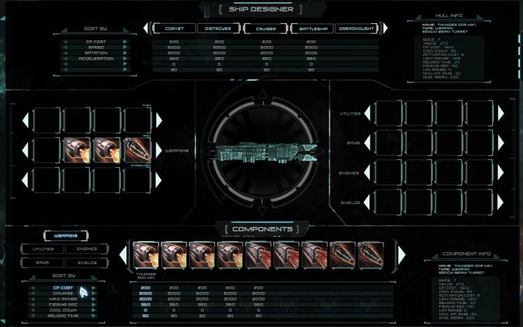 Novus AEterno Ship Editor