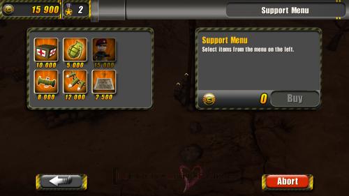 Support Menu