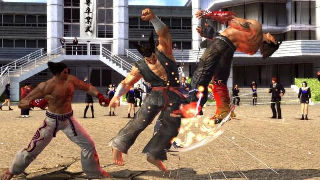 Tekken Tag Tournament 2 Screenshot Heihachi Kazuya Jin