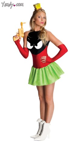 halloween, costume, marvin the martian, sexy, worst, funniest, Yandy