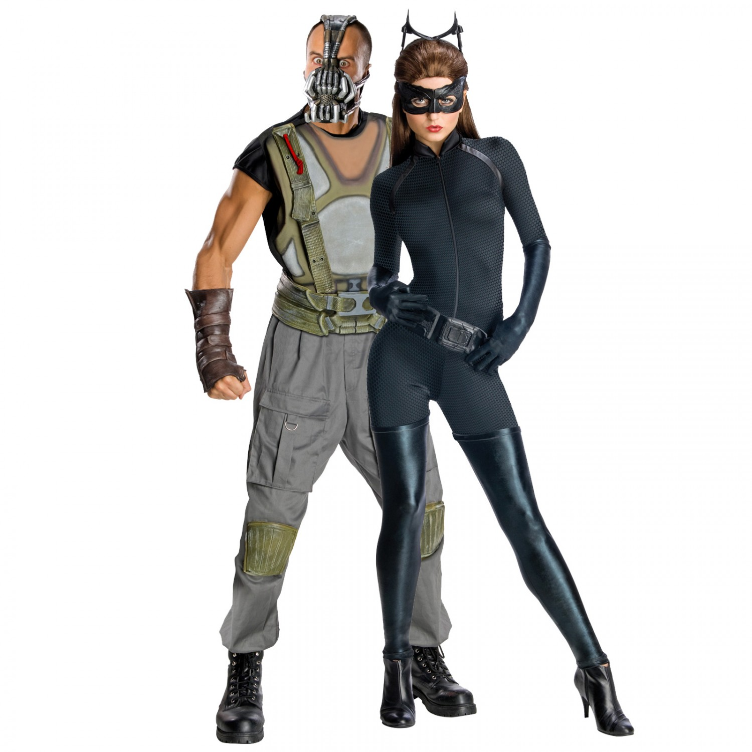 4 bane and catwoman - Halloween Costumes Bane