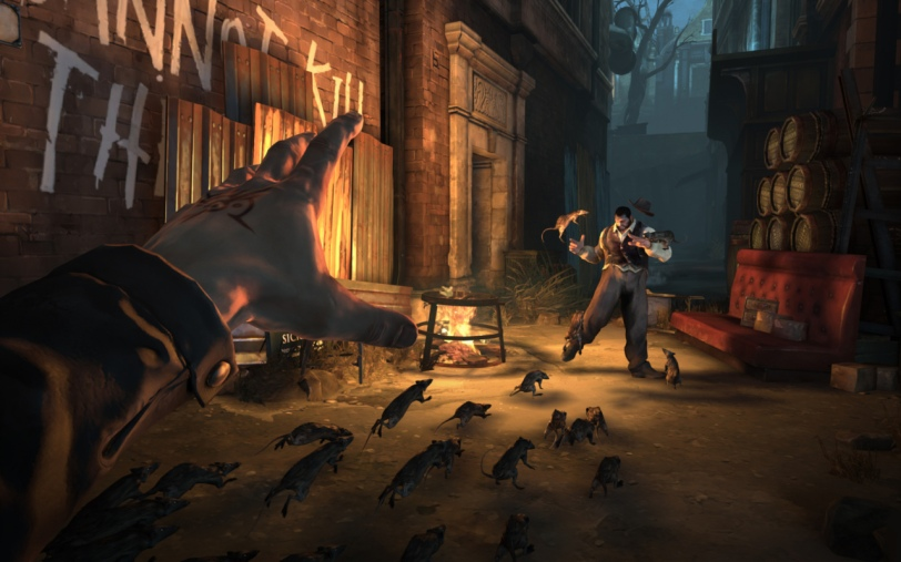 Dishonored Rat Attack