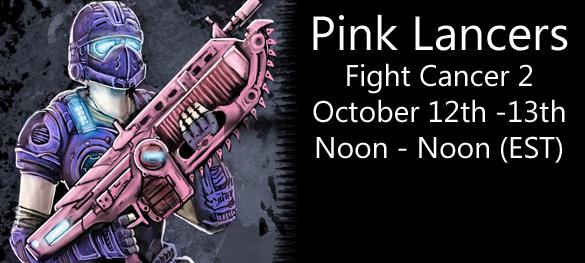 Pink Lancers Fight Cancer