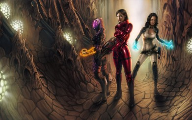 Women of Mass Effect 3