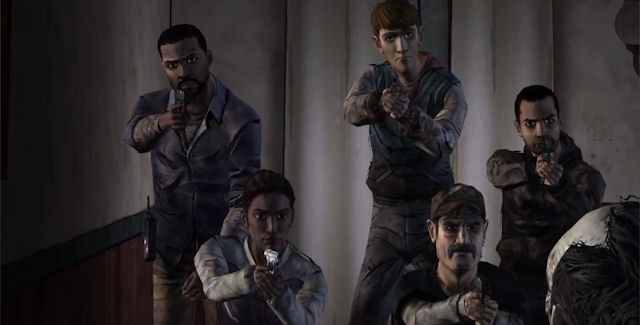 The walking dead episode five no time left review nerdy but flirty