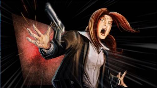 A cutscene.