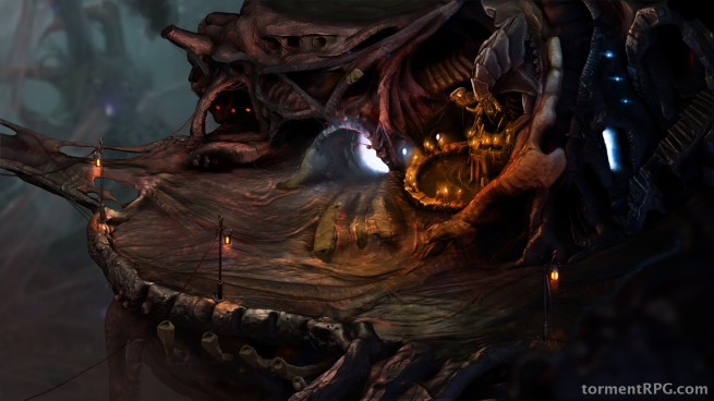 In-game screenshot of The Bloom.
