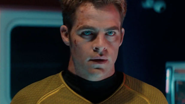 Chris Pine as Kirk
