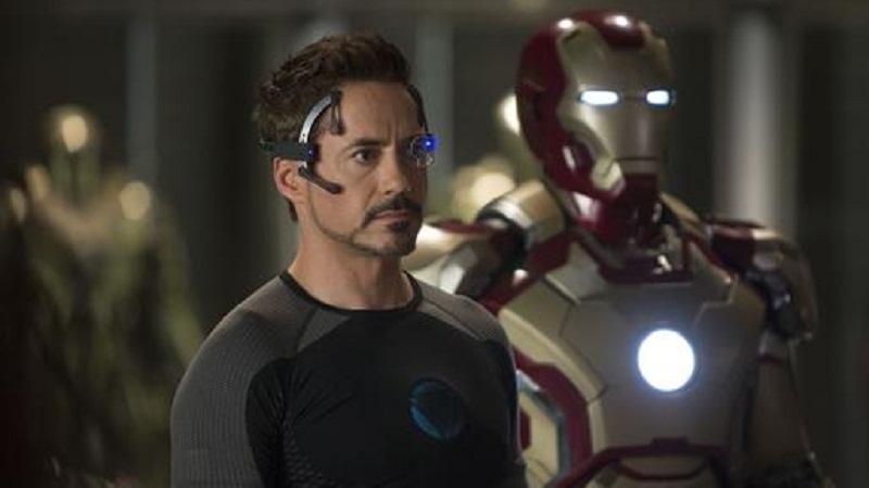"Robert Downey Jr. as Tony Stark ""Iron Man"""