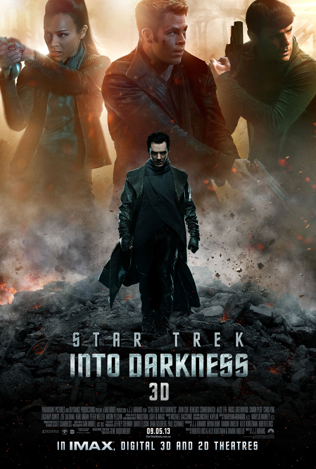Review Star Trek Into Darkness Thrusters Were On Full Nerdy