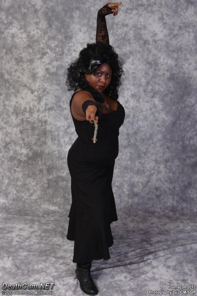 Me as Bellatrix Lestrange, Youmacon 2012