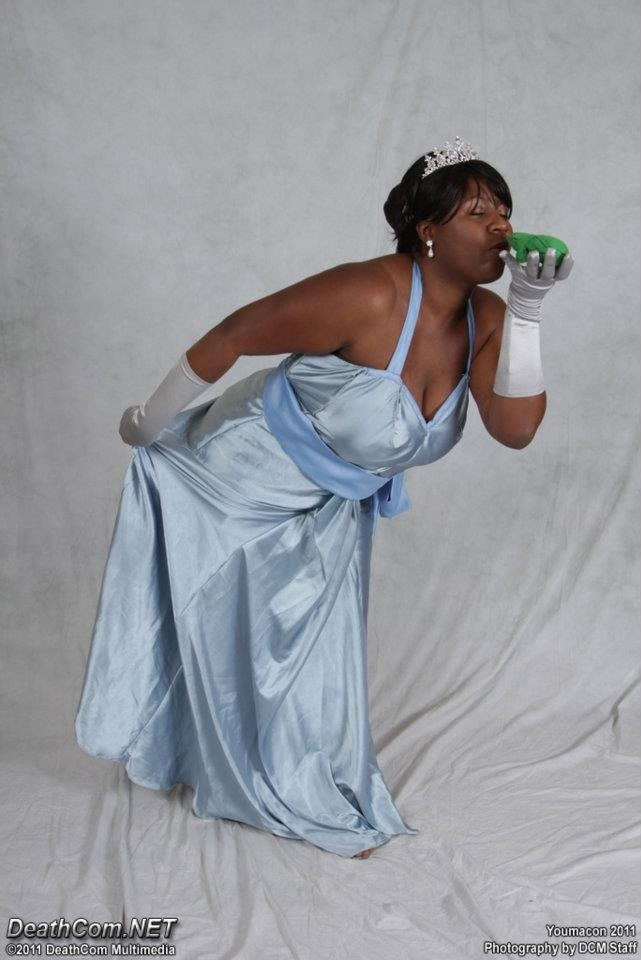 Jade Aurora, Cosplay, Tiana, Youmecan 2011, black, female, cosplayer