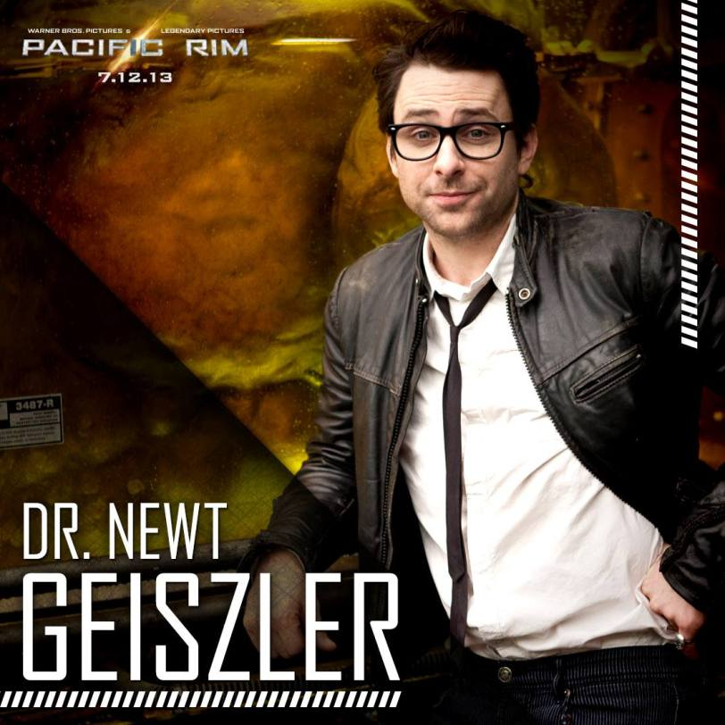 Charlie Day as Dr. Newton Geiszler