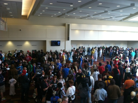 Gen Con 2013 crowd