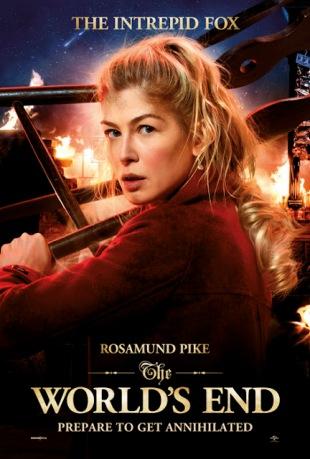 Rosamund Pike as Sam Chamberlain