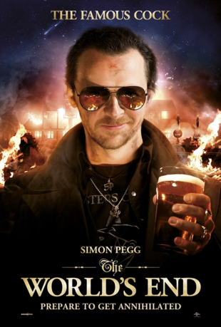 Simon Pegg as Gary King