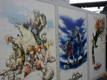 kingdom hearts mural remix