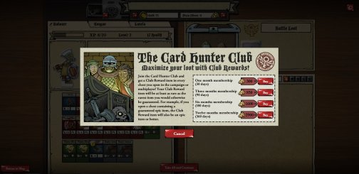 CardHunterClubRewards