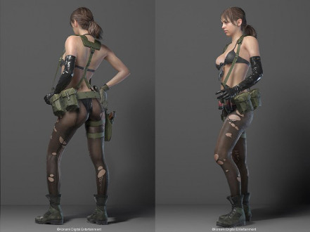 MGSV - Quiet by OniksiyaSofinikum on DeviantArt