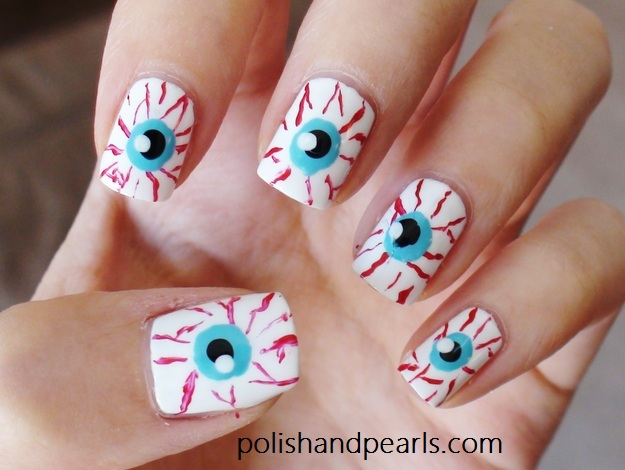 The ten scariest nail art designs for halloween nerdy but flirty 11222 prinsesfo Image collections