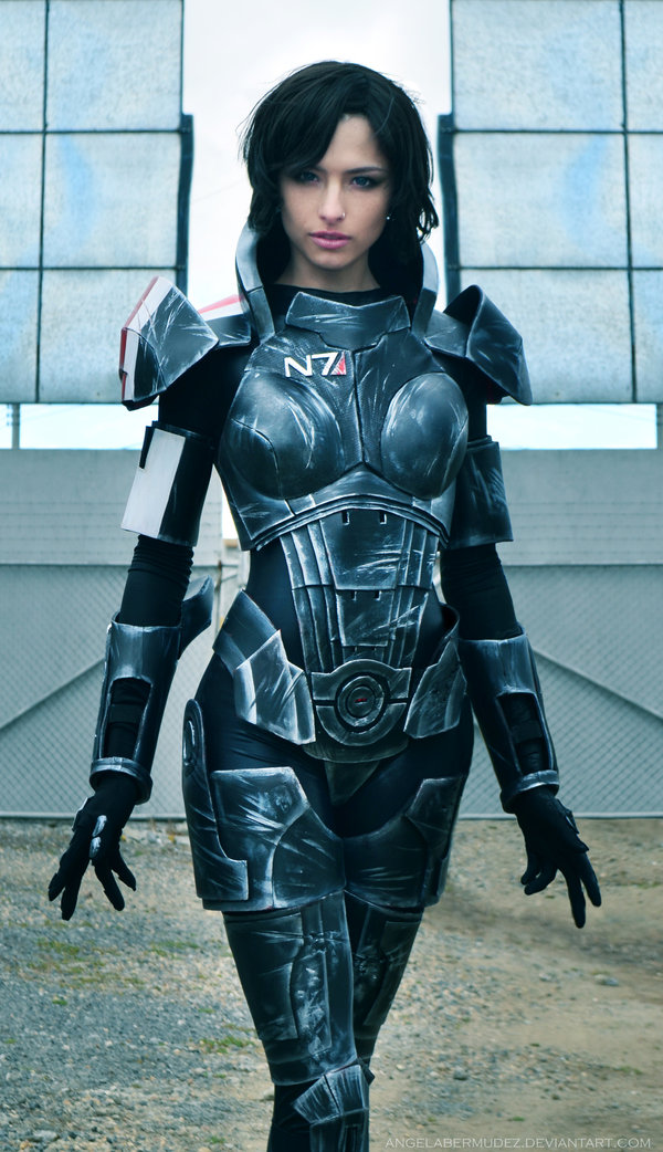 In Mass Effect Commander Shepard (you choose to be either male or female) is pretty much the most badass person alive and itu0027s up to her to save the ...  sc 1 st  Nerdy But Flirty & Top Ten Kickass Nerdy Female Halloween Costumes! | Nerdy But Flirty
