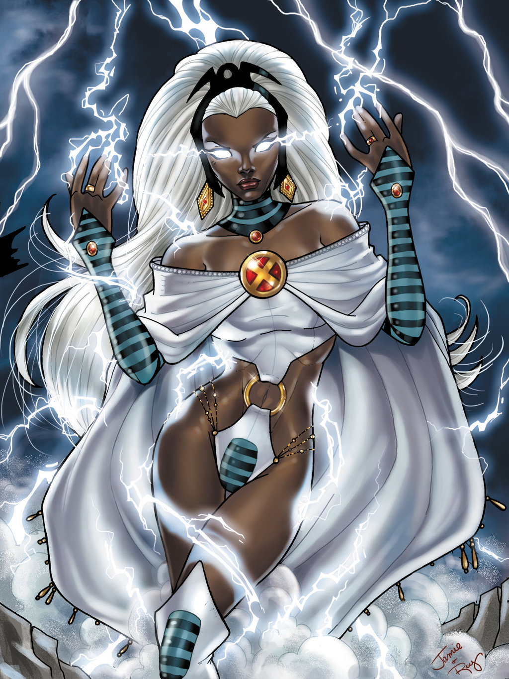 X Men Anime Characters Database : Nerdy halloween costumes for brown skinned gals