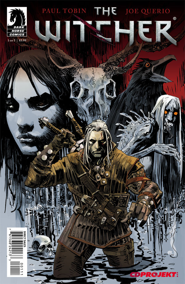 The Witcher #1 Cover