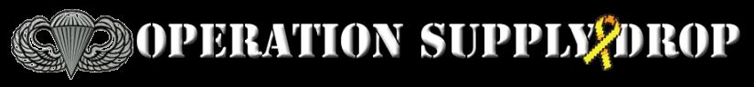 Operation Supply Drop Long Logo 2014