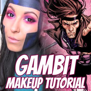 GambitCosplayMakeup