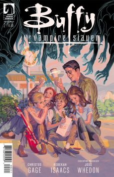 Buffy season 10 #2 cover