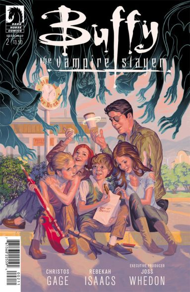 Buffy season 10 #2 cover