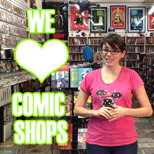 amy dallen comic book store