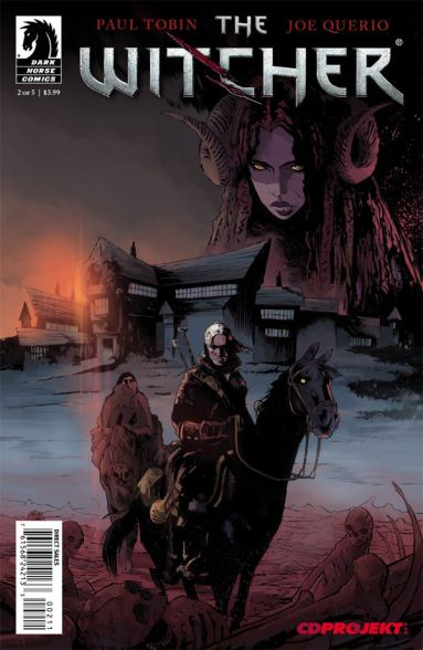 Witcher comic issue 2
