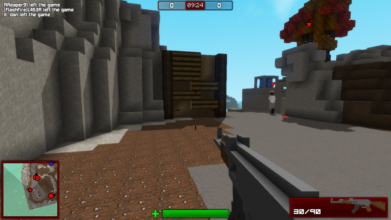 Review Blockstorm A MinecraftStyle FPS Nerdy But Flirty - Minecraft shooter spiele