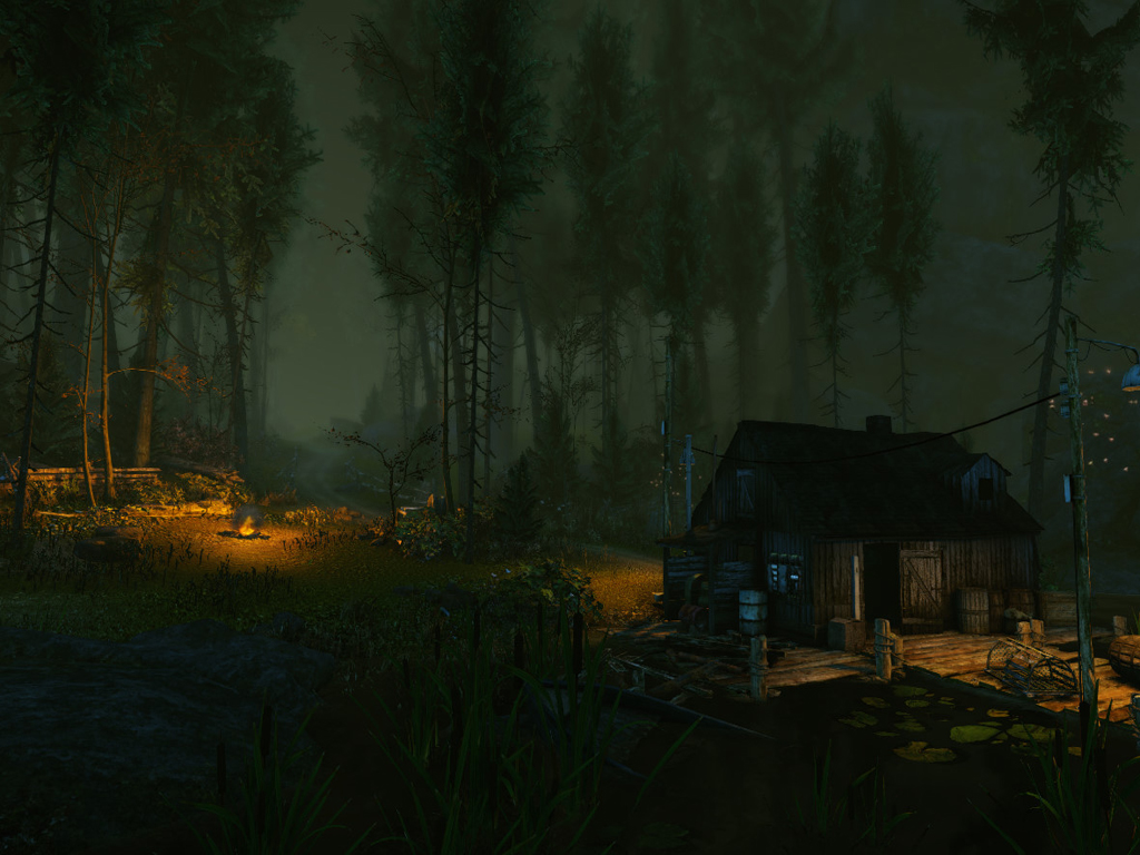 The Cursed Forest A Creepy Cryengine Game Nerdy But