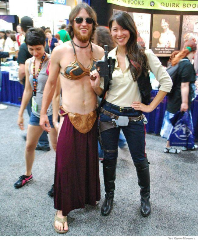 Gender Bent Star Wars Couple