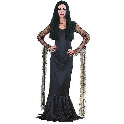 Costume Ideas With Long Black Dress Her Iconic Long Black Dress or