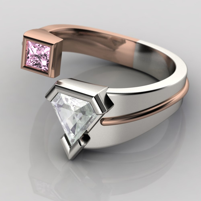 Geeky Engagement Rings Nerdy But Flirty