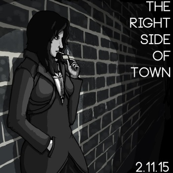 the right side of town